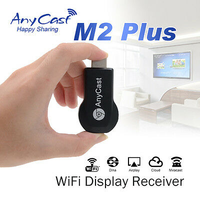 HDMI AnyCast M2 Plus 1080P Wireless phone projection TV transmitter Android IOS