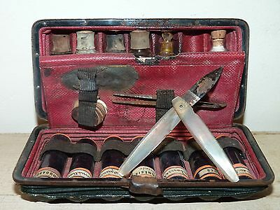 Antique French Signed Marinier Medicine Set Field Ship Docter Surgical Militaire