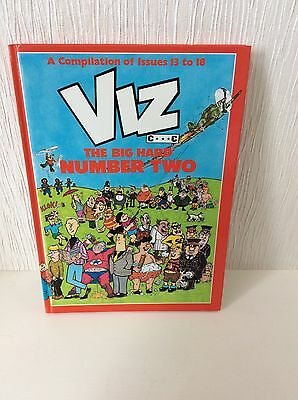 VIZ: The Big Hard Number 2  (Comic Issues 13-18 1990). Hardback Vintage Annual