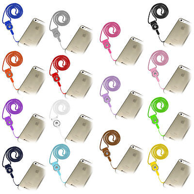 Detachable Cell Phone Mobile Camera Neck Lanyard Strap ID Card Key Ring Holder