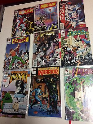 Valiant Comics - Vintage Lot - Hard Corps - Solar Man Of The Atom - And More!