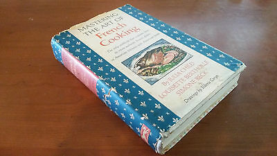 1961 Mastering the Art of French Cooking by Julia Child 1st Printing