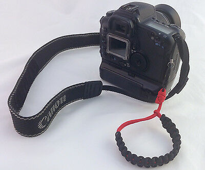 Handcrafted Camera Wrist Strap - Paracord 550 Adjustable