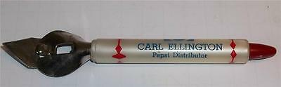 Vintage Carl Ellington Pepsi Distributor Promotional Bottle Opener