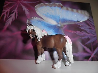 Breyer  Custom CM  Pony with Turned Head and  Pink Bows by ** Linda R. Elkjer **
