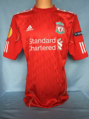 Liverpool FC Match worn issue shirt maglia camiseta trikot maillot