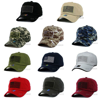 USA American Flag hat Military Army Tactical Operator 100% Cotton Baseball cap