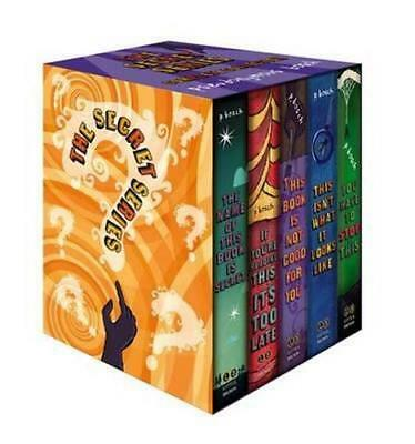 NEW The Secret Series Complete Collection By Pseudonymous Bosch Paperback