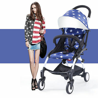 Luxury mini Baby Stroller Pram Jogger Travel system Toddler KIids Pushchair