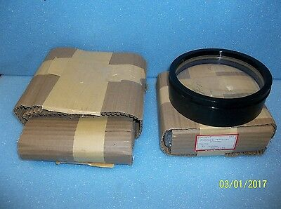 """Six-inch 6"""" f/10 air-spaced achromatic refractor telescope lens objectives"""