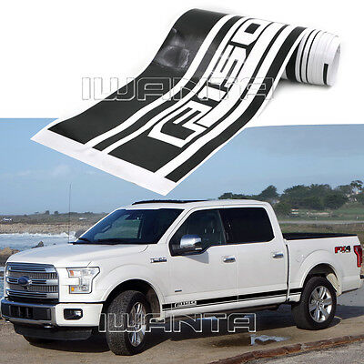2x Graphics Side Skirt Stripe F150 Sticker Body Decal For Ford F-150 2015 2016