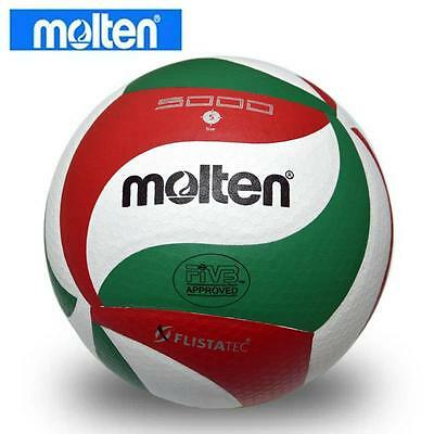 2015 Molten Soft Touch VSM5000 Size5 Volleyball Ball + Net Bag & Needle