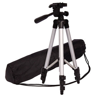 WT-3110A Aluminum Portable Tripod Stand Camera Camcorder With Bag for Nikon