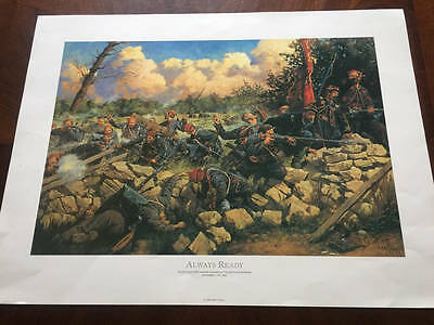 Keith Rocco Always Ready Art Print Signed Limited Edition 32/500