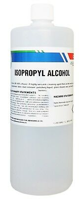 min. 99.8% pure Isopropyl Alcohol - 1 Litre - Isopropanol IPA Rubbing Alcohol 1L