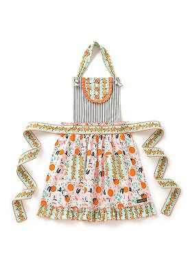 Matilda Jane Baked From Scratch Apron Girls OS Joanna Gaines Baking Kitchen NWT