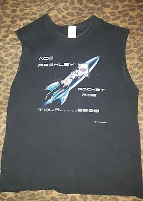 Ace Frehley - 2008 Rocket Ride Tour Shirt, Men's XL (Sleeveless) Shirt
