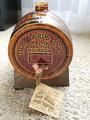 Vintage 1970's Old Bardstown ☆☆ Ceramic Barrel ☆☆ Great Collectible