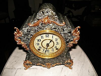 Seth Thomas French Style Adamantine Mantel Model Name CANDY Scarce Clock