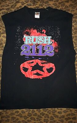 Rush - 2112 (Sleeveless) Shirt, Men's XL