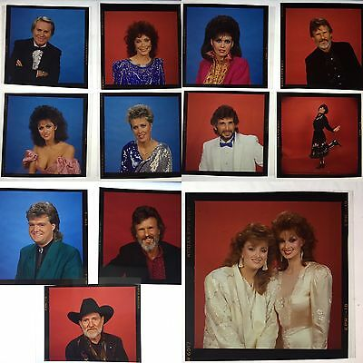 1986 Country Music Awards Numerous Transparencies And Negatives