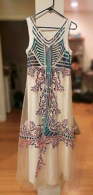 Anthropologie Beautiful Dress - NEW WITH TAG * Size 4 Vintage-inspired long gown