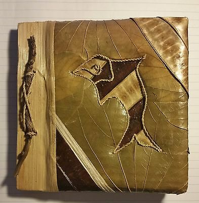 Photo Album/ Note Book Made Out Of Natural Leaves