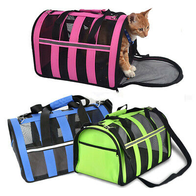 NEW Pet Carrier Soft Sided Small Cat /Dog Comfort Travel Bag Airline Approved