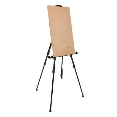 Adjustable Artist Iron Folding Height Poster Stand Display Easel + Carry Bag New