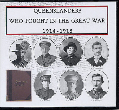 Genealogy-Queenslanders Who Fought in the Great War Australian Military History
