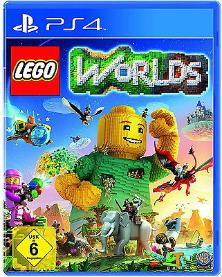 LEGO Worlds Deutsche Version Ps4 (Sony PlayStation 4, 2017) Versiegelt NEUWARE