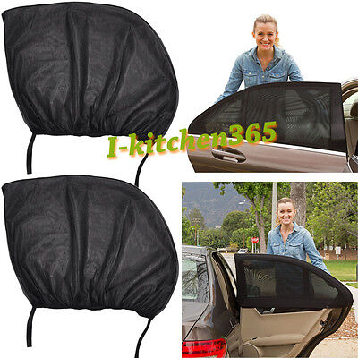 1 Pair Universal Sun Shade Socks Rear Side Seat Car Window Sox Kids&Baby Protect