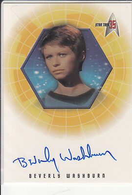 TOS 35th Anniversary: A12 B. Washburn (Lt. Galway) autograph