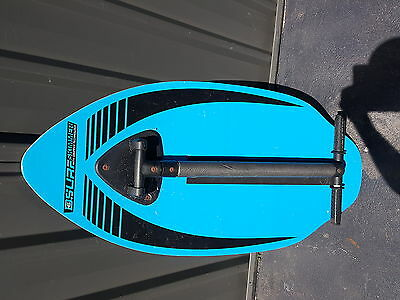 "D6 Sports Wooden Surf Skimmer 41"" Inch + Gripper Handle Excellent Condition See"