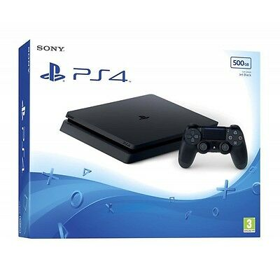 Ps4 Console 500Gb Slim Playstation 4 Slim White Bianca Sony Slim D Chassis Eu