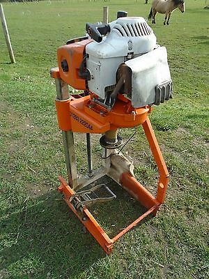 Golz / Stihl Petrol Powered Diamond Core Drill Drilling Rig