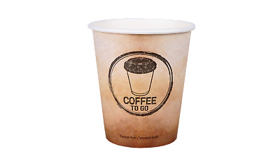 1000 Hartpapier Coffee to go Becher 0,3l Kaffeebecher Pappbecher Coffeebecher