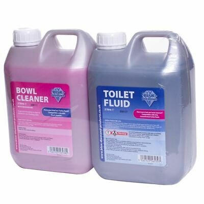 Blue Diamond Chemical Toilet Fluids & Cleaning | Camping Caravan | Long Lasting