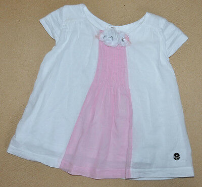 Mayoral Baby Girl Summer Top Blouse Age 18 Months Eur 86Cm Cotton Holiday