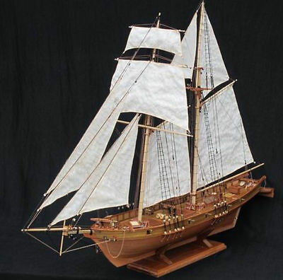 Scale 1/96 Wooden Ship Boat Model Kits HARVEY 1847 Classics Antique FREE SHIP