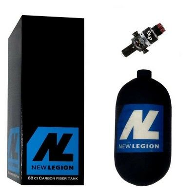 1,1 Liter New Legion Dwarf Composite HP System inkl. Ninja SLP Regulator