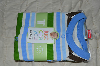 Infant Carters Onezie - Pajamas - Carter's 6 Mos. Boys-Free Shipping-NEW