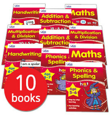 Letts Magical Skills: Ages 5-7 Collection - 10 Books