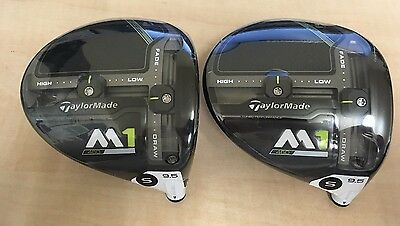 NEW TAYLORMADE 2017 M1 460 9.5 DEGREE DRIVER HEAD ONLY with Headcover & Wrench