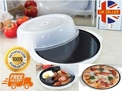 Microwave Fat Free Healthy Fryer Grilling Cooking Browning Crisping Roasting