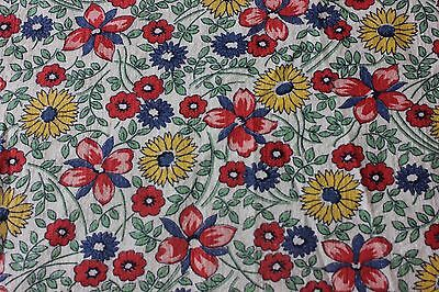 *American Vintage c1930-40s Genuine Cotton Feed Sack Fabric~Quilting,Projects~