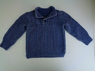 Baby Gap Toddler Sweater Navy Blue Size 2 Years EXCELLENT CONDITION!!! Boys