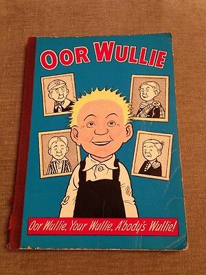 Oor Wullie Annual 1966 In Very Good Condition