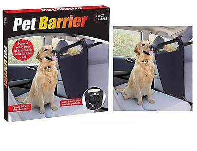 Deluxe PET BARRIER Universal Dog Safety Guard Adjustable Car Hatchback Storage
