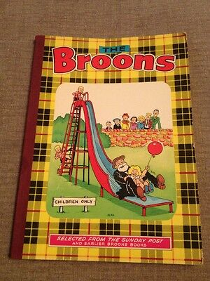 Vintage The Broons Annual 1976 (1975) D C Thompson - Very Good Condition